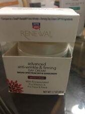 Rite Aid Renewal Anti Wrinkle & Firming Face / Neck Contour Cream Moisturize