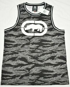 Ecko Unltd T-Shirt Men/'s Mountain High Rhino Graphic Tee Black Streetwear Q302