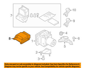 image is loading audi-oem-12-16-a6-quattro-abs-anti-