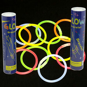200-8-034-GLOW-STICKS-BRACELETS-NECKLACES-PARTY-NEON-FAVORS-FREE-SHIPPING-USA