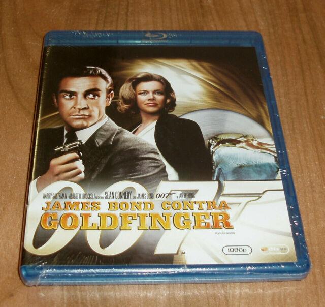 JAMES BOND CONTRA GOLDFINGER JAMES BOND 007 BLU-RAY NUEVO ACCION (SIN ABRIR)