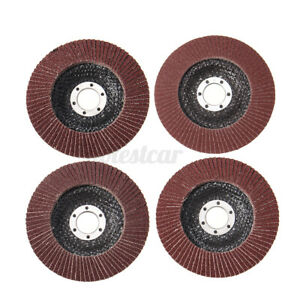 10PCS-5-039-039-Flap-Discs-125MM-Sanding-40-60-80-100-120Grit-Grinding-Wheels-Discs