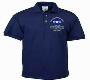 177TH-FIGHTER-WING-ATLANTIC-CITY-NJ-USAF-ANG-EMBROIDERED-LIGHTWEIGHT-POLO-SHIRT