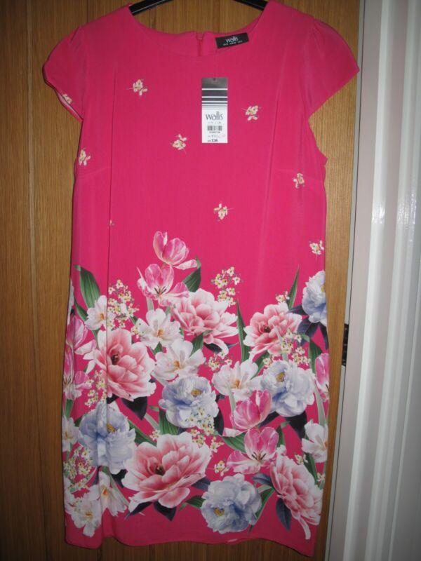 nuovo con etichetta! Donna Next Rosa Floreale A Maniche Corte Pigiama di piccole dimensioni regolare UK 8-10