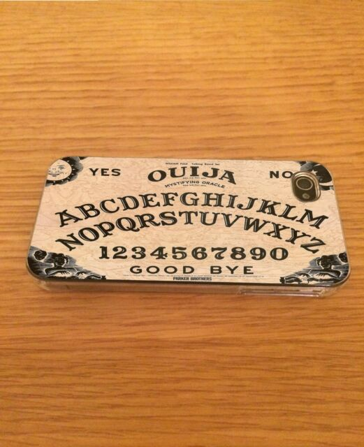 Ouija Board Iphone Hard Case Cover - Fits 4,4s,5,5s,5c,6,6+