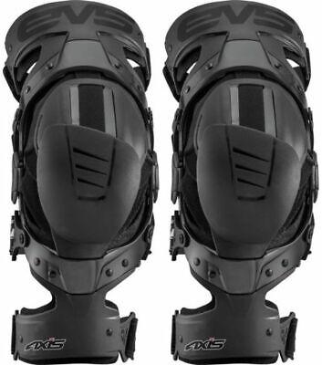 Black, Large, Right Single EVS Sports Unisex-Adult Axis Sport Knee Brace