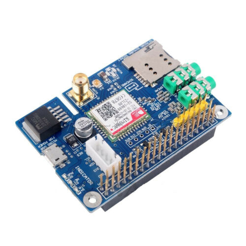 SIM800C Development Board GPRS GSM Module with Antenna for Raspberrp Pi RPI