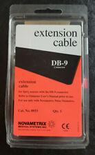 Novametrix Extension Cable For Spo2 Sensors With Db 9 Connector Oximeter 8933 New