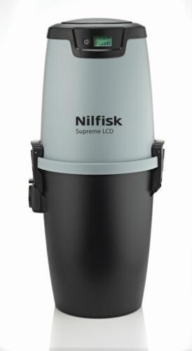 Einbaustaubsauger Nilfisk Supreme LCD Zentralstaubsauger Staubsaugeranlage