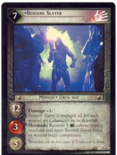 Lord Of The Rings CCG Card BohD 5.R47 Berserk Slayer