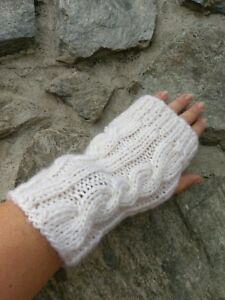 Hand Knitted Wrist Warmers