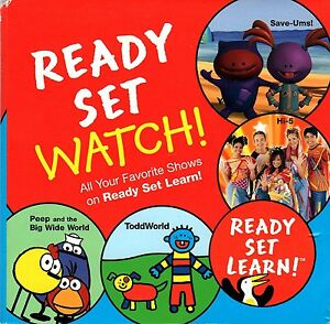 Details about Ready Set Learn TLC Discovery Kids DVD