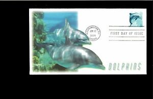 2002-First-day-Cover-Dolphin-Washington-DC