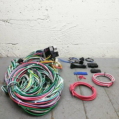 1960 - 1965 Ford Falcon Wire Harness Upgrade Kit fits painless circuit  compact | eBay | 1965 Falcon Wiring Harness |  | eBay