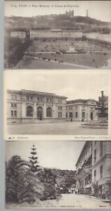 Vintage-Black-and-White-Postcards-Circa-1800-039-s-1900-039-s-Lot-of-5