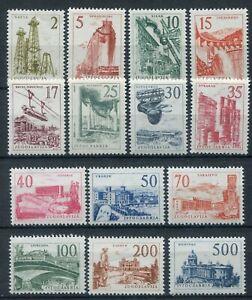 Jugoslawien-1958-Industrializzazione-Serie-Vollstaendige-MNH-Katalog-Y-amp-T