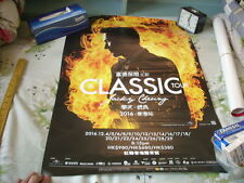 a941981  2016 Classic Tour Promo Poster Jacky Cheung 張學友 VG+ Copy