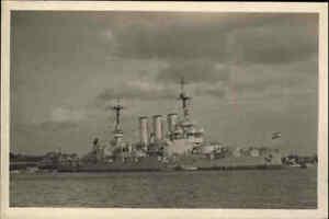 Kriegsmarine-War-Ship-Kriegsschiff-Echtfoto-AK-Linienschiff-Elsass-in-Kiel-1940
