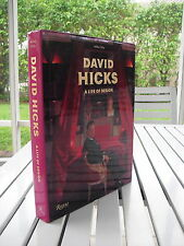 DAVID HICKS A LIFE OF DESIGN BY ASHLEY HICKS 2012 SIGNED BY DAVID HICKS