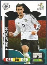 PANINI EURO 2012-ADRENALYN XL-GERMANY-MIROSLAV KLOSE