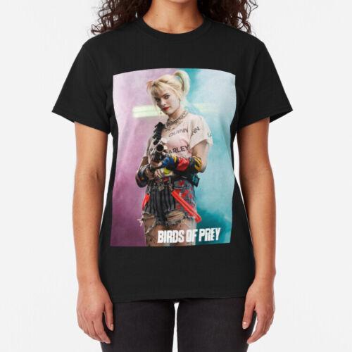 Margot Robbie Shirt Birds of Prey Harley Quinn TV Movie Unisex T shirt