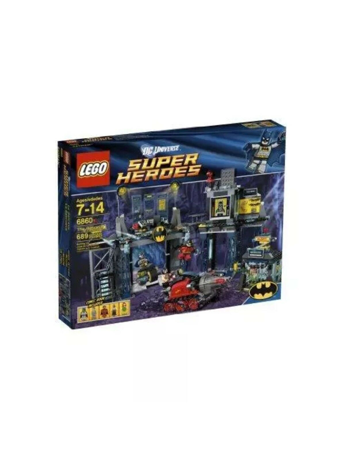 LEGO Super Heroes 6860 The Batcave Batman New Sealed RetiROT