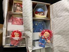 "Danbury Mint Porcelain Dolls ~ ""Baby Annie & Andy"" by Kelly Rubert ~  20"" Tall"