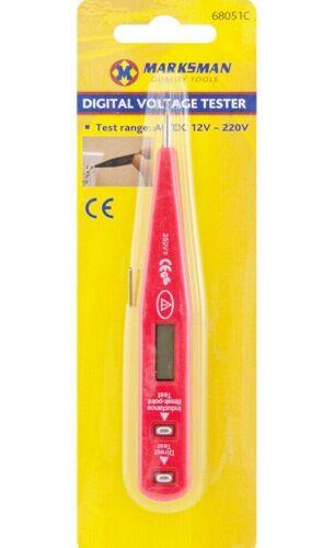 220 V affichage numérique rapide NEUF Digital Testeur de tension stylo outil AC DC 12 V