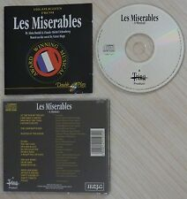 RARE CD ALBUM LES MISERABLES A MUSICAL BY ALAIN BOUBIL CLAUDE MICHEL SCHONBERG