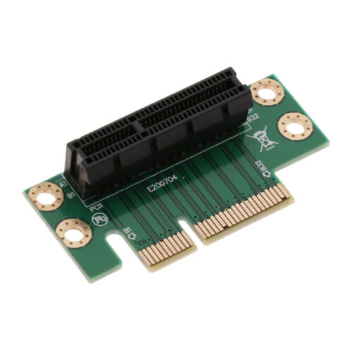 PCI-Express Riser Card PCI-E 4X Steering Card Graphics 90 Degree Angled