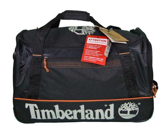 Timberland Long Creek 26 Wheeled Duffle Bag Extendable Handle Luggage