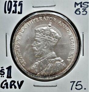 1935-Canada-1-Silver-Dollar-MS-63