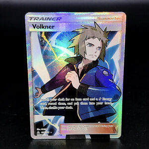Volkner-Full-Art-Holo-Trainer-Supporter-SM-Ultra-Prism-156-156-Rare-Pokemon-Card