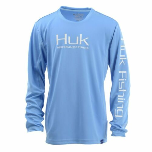 Save 35/% HUK ICON X Youth LS Performance Fishing Shirt-Pick Color//Size-Free Ship