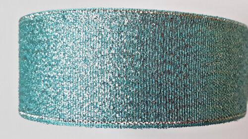 Christmas Sparkle Organza Ribbon Cut to Lenth 1M 2M 3M 4M 5M Width 38mm
