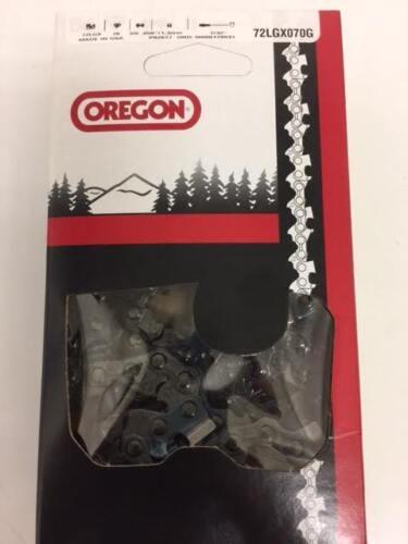 "1 Oregon 72LGX070G 20/"" chisel chainsaw chain  3//8 .050 70 DL for CS 590 680 600P"
