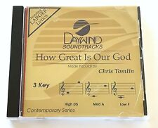 Daywind - Chris Tomlin - How Great Is Our God - accompaniment track christian cd