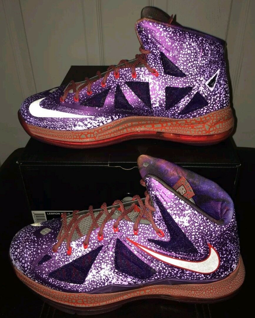 Nike Lebron X 10 AS Size 14 ALL-STAR AREA 72 15 GHOST AIR MAX 1 JORDAN XI IV XII