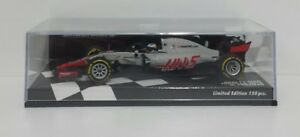 MINICHAMPS-1-43-ROMAIN-GROSJEAN-8-HAAS-F1-TEAM-FERRARI-VF-18-SHOWCAR-2018-HALO