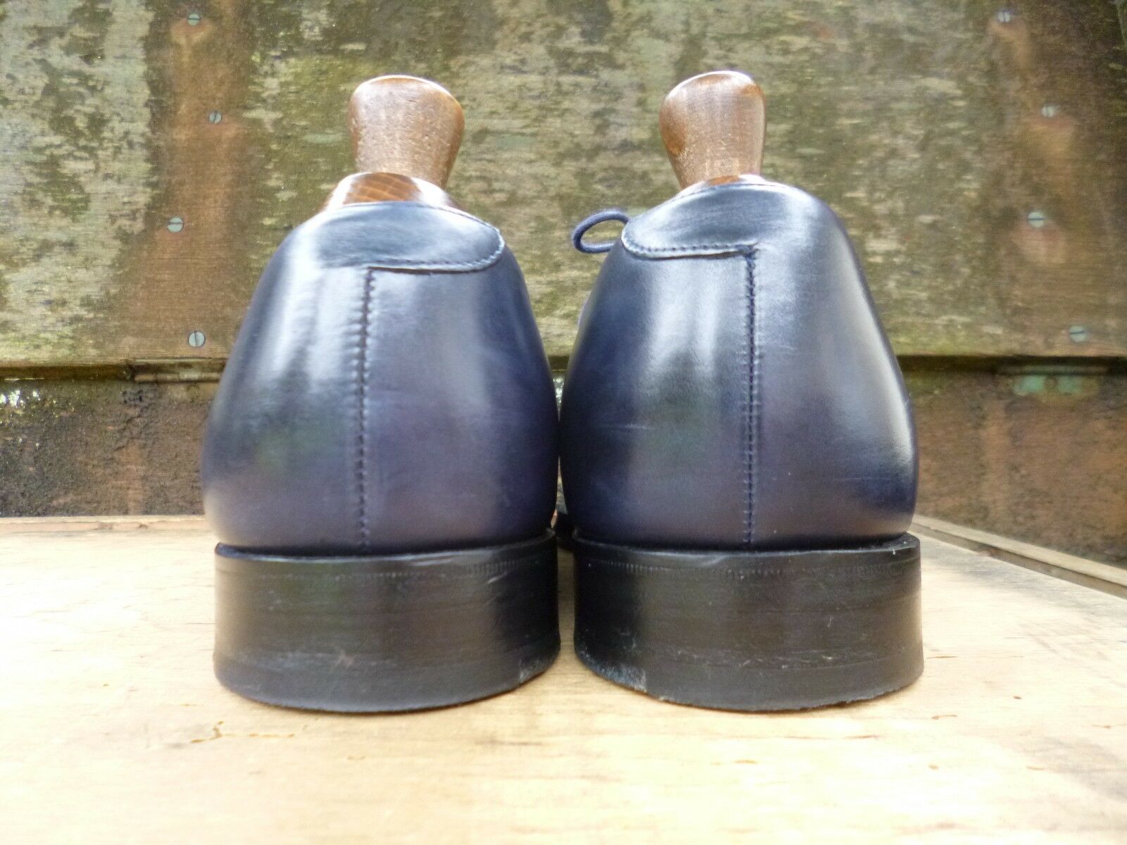 CHEANEY BLUE / CHURCH BROGUES – BLUE CHEANEY – UK 8 – POD – WORN ONCE ace67c