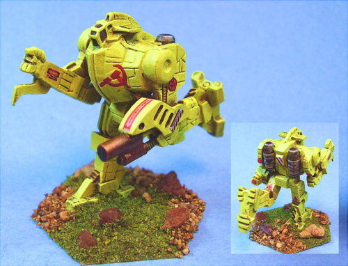 Battletech painted Icarus II battlemech RI