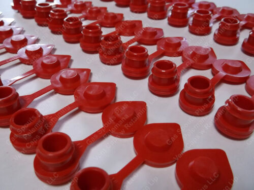75-Pack-GAS-CAN-RED-VENT-CAPS-Air Breather FIX YOUR CAN GLUG-Wedco-Blitz-Scepter