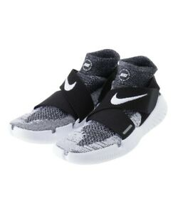 cacb7d55fa0 Nike Free RN Motion Flyknit 2018   942840 001 Black White Men SZ 7.5 ...