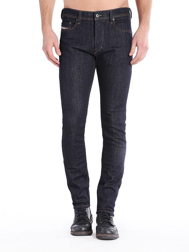 DIESEL Tepphar Men's Slim Carred Fit Stretch Jeans Dark Indigo NEW 32x32
