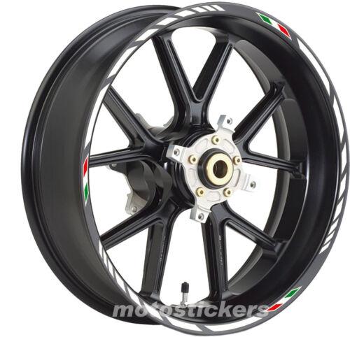 YAMAHA TDM900 Adesivi Cerchi Kit ruote modello racing tricolore