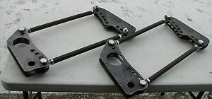 Details about Drag 4-Link Bars, Rod Ends and Mounting Plates, Checkered  Racing