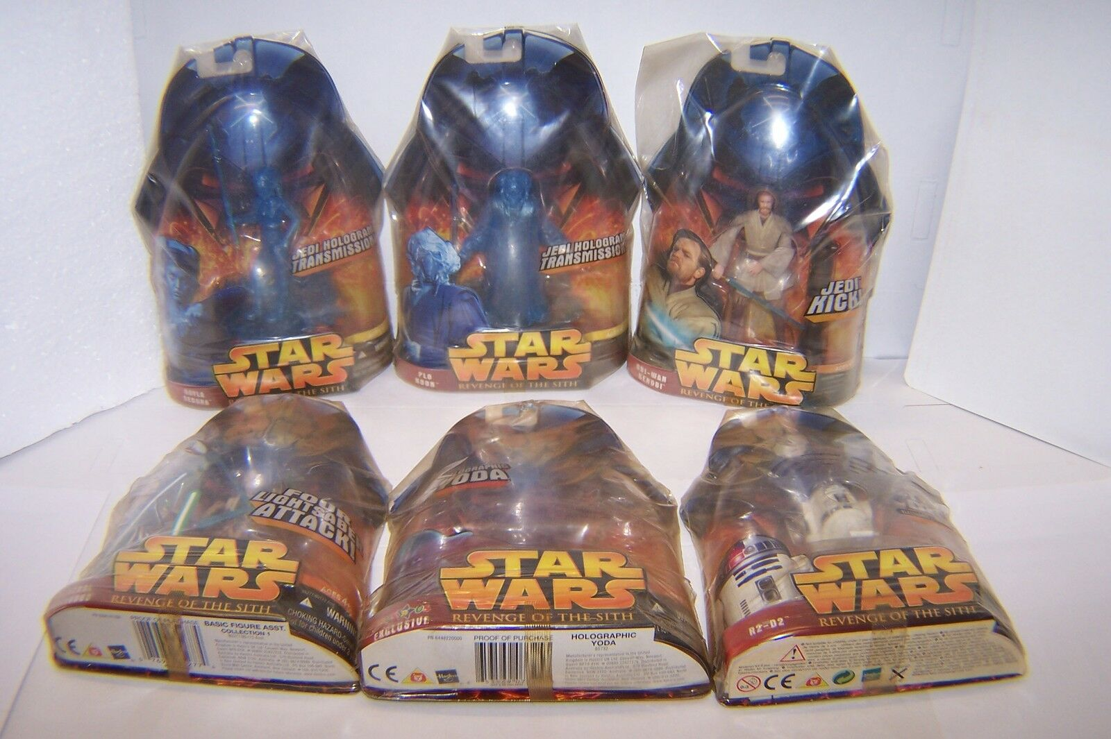 STAR WARS revenge of the sith - n  6 action figure - vedi elenco - vedi foto -