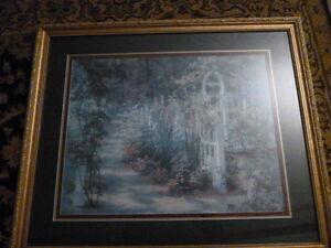 "Barbara Hails ""Rose Arbor"" sold out print. #221/1000 | eBay"