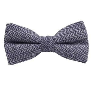 Tweed mouchoir Gris Clair Herringbone Poche SQUARE