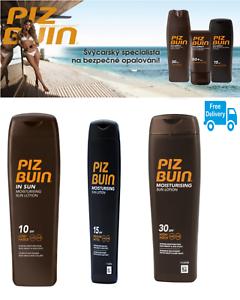 Piz-BUIN-IN-SUN-SUN-LOZIONE-IDRATANTE-SPF-10-SPF-15-SPF-30-alta-200ml